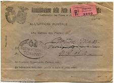 REGNO, BUSTA AMMINISTRAZIONE POSTE, TIMBRO TORINO FERR. AMERICA, 1930     m