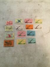Collection of 14 New Jersey Fishing Stamps