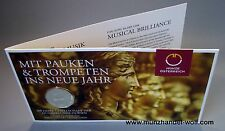 5 Euro Silber 2012 200 Jahre Gesellschaft der Musikfreunde in Wien Blister Hgh