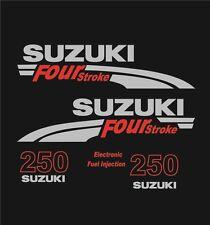 Adesivi motore marino fuoribordo Suzuki 250 hp four stroke
