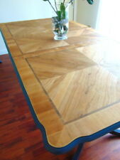 Large DINING TABLE Extending VINTAGE French Country DANISH OIL Table Top