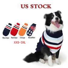 Pet Sweaters Outfits Dog Clothes XXS-3XL Sweater Warm Winter Puppy Pet Soft Coat