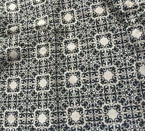 2 yards Geometric Fabric: by David Textile Ladies & Gentlemen Parfum Pela Studio