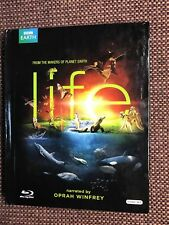LIFE BBC Makers of Planet Earth & Blue Planet Blu-Ray Oprah 4 DiscSet