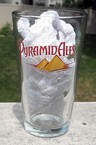 New Pyramid Ales Beer Pint Glass 14 Ooz