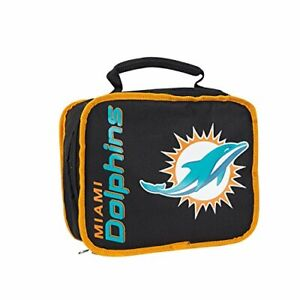 Northwest NFL Miami Dolphins Insulated Lunch Bag Box Cooler Del. 2-4 Days