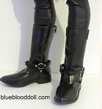 1/3 bjd Iplehouse EID HID male doll huge size black boots shoes #S-96XL ship US
