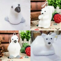 White Christmas Tree Bubble Decor Ornaments Animal Pendant New Year Gifts Doll