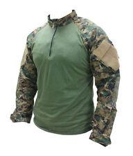 Woodland Digital Camo Xtreme Tactical Combat Shirt by TRU-SPEC 2586 - FREE SHIP