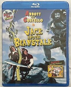 NEW ABBOTT & COSTELLO IN JACK AND THE BEANSTALK BLU RAY VCI FREE WORLD SHIPPING