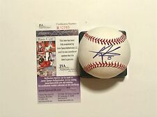 GREGORY POLANCO SIGNED OML BASEBALL JSA PITTSBURGH PIRATES