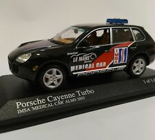 Porsche cayenne turbo medical car 1/43 minichamps