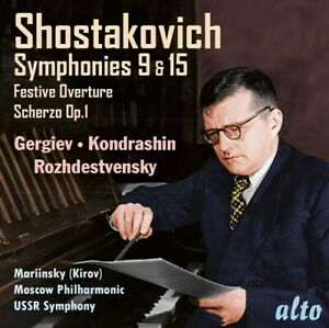 SHOSTAKOVICH: SYMPHONIES 9 & 15: GERGIEV: KONDRASHIN (CD)