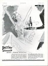 ▬► PUBLICITE ADVERTISING AD Eau Gazeuse PERRIER 1939 Libis (b)