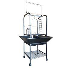 142cm Parrot Bird Stand Bird Cage Gym Ladder Stair Swing Toy Hanger C28