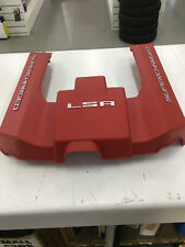 GENUINE GM LSA RED ENGINE COVER - SUPERCHARGED / HSV
