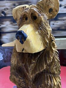 Chainsaw Carved Bear  Carving Standing Bear Animal Carving Wood Carvings