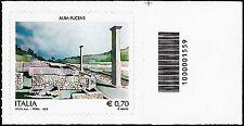 Italia 2013 - Sito archeologico di Alba Fucens - Codice a barre 1559
