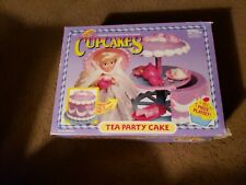 """Tonka Cupcakes """"Tea Party Cake"""" Changes from Cake to Party Playset 1991 Dessert"""