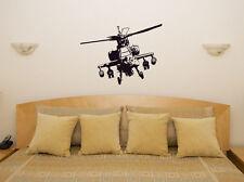 Helicóptero Apache Infantil VIDEOJUEGOS WAR ADHESIVO PARA DORMITORIO pared