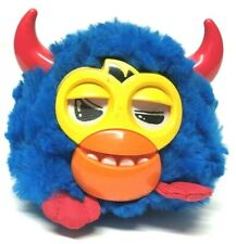 2012 Hasbro Furby Party Rockers Series SCOFFBY Interactive Toy Blue Red Horns