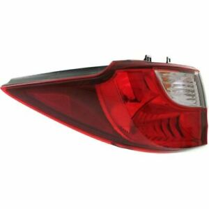 FITS FOR MAZDA 5 2012 2013 2014 2015 REAR TAIL LAMP LEFT DRIVER