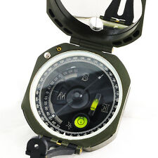 Military Army Geology Pocket Transit Plastic Compass Outdoor Surveyor Hiking Kit