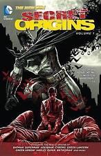 NEW Secret Origins Vol. 1 (The New 52) by Jeff Lemire