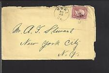ROME, GEORGIA COVER,1866 3CT GRILL ISSUE,  FLOYD CO. /OP.