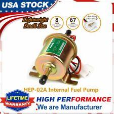 CarBole 4-7PSI 12V Micro Electric Fuel Pump E8012S FD0002 EP12S For Carburetors