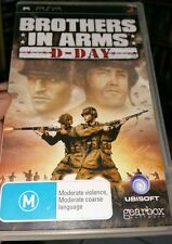 Brothers In Arms - D-Day (no booklet)  PSP - FREE POST *