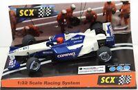 60960 SCX Williams F1 Compaq Montoya #6 2001 1/32 slot car
