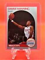 Danny Manning 1990 NBA Hoops #147 Basketball Card (Los Angeles Clippers)