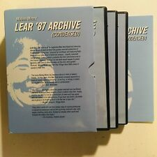 Mabou Mines' Lear '87 Archive (Condensed) DVD King Drag William Shakespeare *LN*