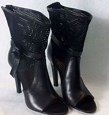 VIKTOR &  ROLF Vero Cuoio Ankle Boots Ladies Summer Shoes Heels  Made in Italy