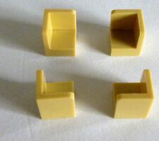 10 LEGO 6231 coin Panel banc 1x1x1 Blanc White Parts Blocs De Construction 623101