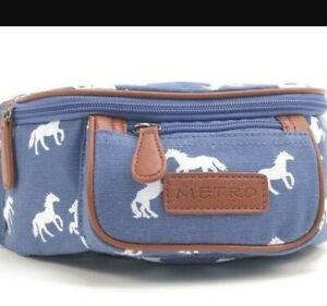 Men Women Horse Print  Money Belt Bum Bag Waist Pack Sport Pouch Hiking Running