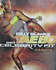 Billy Blanks Tae Bo Get Celebrity Fit Star Cardio NEW DVD,Workout,Fitness,Toned