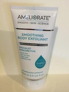 AMELIORATE Smoothing Body Exfoliant 5oz / 150ml New