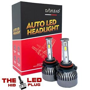 4 sided daylead LED headlights foglights H7 super brights CREE CSP