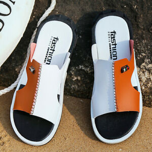 2020 men's summer sandals comfortable slip-on casual sizes 38-46
