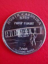 2001 US-North Carolina 1789 First Flight-quarter dollar coin.