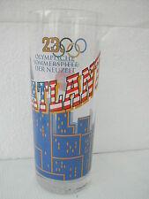 COCA COLA® VERRE ALLEMAND JEUX OLYMPIQUES ATLANTA 1996 0.4L H 17.5 CM N° 3048
