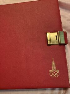 1980 MOSCOW OLYMPIC SILVER COIN COLLECTION set W/CASE & COA 28 Coins 20.24 oz