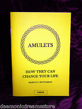AMULETS by Marcus T Bottomley. Grimoire. Occult. Finbarr Magick Witchcraft