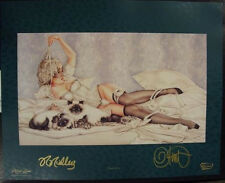 "Olivia De Berardinis ""Tapioca"" Artist and Model Signed Art Print 16""x20"""