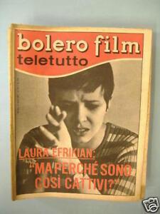 BAUDO EFRIKIAN BOLERO TELETUTTO 5 MARZO 1967 N°1035