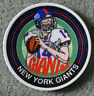 NEW YORK GIANTS NFL FOOTBALL PLATE SPORTS IMPRESSIONS