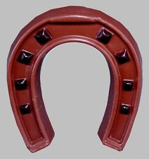 Schokoladenform -Gießformen - Relief Hufeisen Doppel Gießform je 10cm