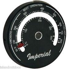 Magnetic Stove Flue Thermometer (Burn Indicator) Imperial Brand Kel Kem